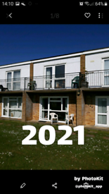 Hemsby 2021 Holiday Chalet to rent. Nr Great Yarmouth Norfolk Sleeps 5