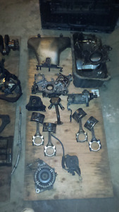 Honda prelude engine and asst.  parts