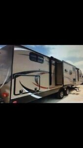 2014 33tbud travel trailer