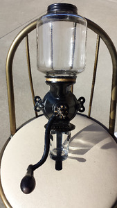 ANTIQUE WALL COFFEE GRINDER