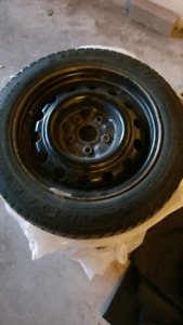 15 inch steel wheels with winter tires