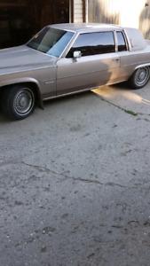 83 Cadillac coupe deville