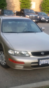 1996 Nissan maxima only 101000km.