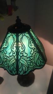 Stained glass lamp $85