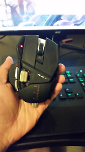 Rat 9 gaming mouse 9.8/10 condition.