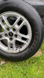 Land rover discovery 3 wheels