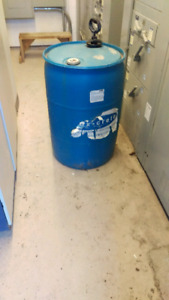 Approx. 35 gallons of Chembeton 250 concrete form release agent