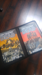 The Walking Dead graphic novels issues #21 and #22