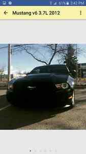 Selling mustang 2012 3.7L