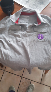 Cub scout uniform shirt