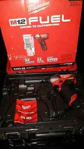 New milwaukee m12 fuel brushless impact drill screwdriver West Island Greater Montréal image 3