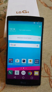 UNLOCKED LG G4 in excellent condition