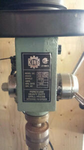 KING Drill Press $125.00