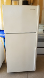 White KitchenAid Fridge - 30""