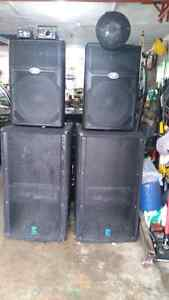 Complete System for DJ and Band   6, 400 watts peak