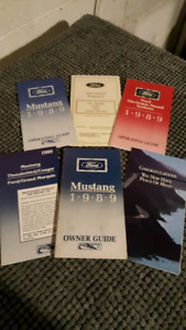 1989 Ford mustang owners manual