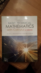 Basic technical mathematics with calculus kijiji in ontario basic technical mathematics with calculus si version fandeluxe Choice Image