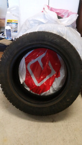 "4 used 205/55 16"" snow tires"