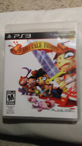 PS3 game.  Fairytale Fights.