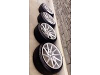 Directionals alloys wheels 5x112 vw Audi seat