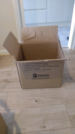 FREE Cardboard boxes for storage and removal