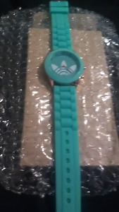 Adidas Lime Green Watch w/Silicone Band