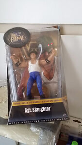 WWE HALL OF FAME CLASS OF 2004 SGT. SLAUGHTER ACTION FIGURE WRES