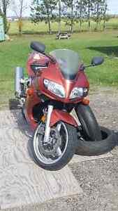 2003 Suzuki SV650/S - Burnt Copper - Extras