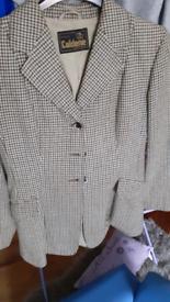 Ladies caldene tweed jacket