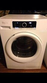 Whirlpool 9kg heat pump condenser dryer free local delivery
