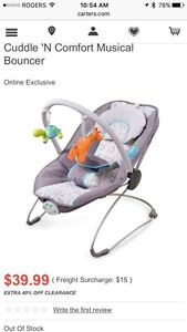 GUC Carters Bouncy Chair London Ontario image 1