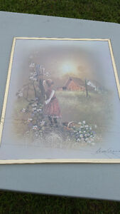 Picture of Boy and Girl Farm Scene Cambridge Kitchener Area image 1