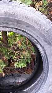 P235/60R16 Winter Tires Kawartha Lakes Peterborough Area image 2