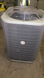 Payne 3 Ton Air Conditioner Comes With Matching Air Handler.