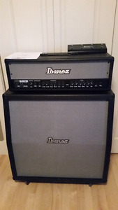 Ibanez Tone Blaster 100H with TB412A cabinet