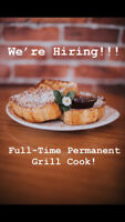 Full-Time Permanent Grill Cook