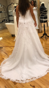 Wedding dress bought at Chester and felicity