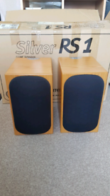 Monitor Audio RS1 silver speakers