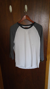 Men's Colour Block Baseball tee Medium