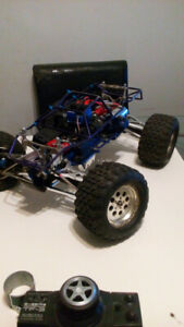 Traxxas Revo converted to electric RC