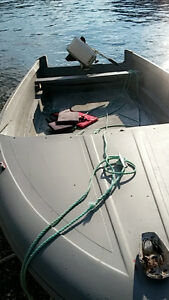 14ft boat and motor