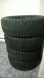 Winter Tires - pneus d'hiver -  195/65R15