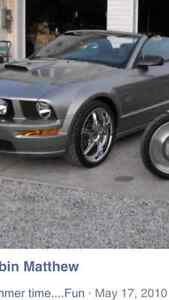 20 inch ties and rims new off mustang
