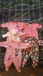 clothing 0-3 month. excellent condition. 32 items