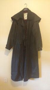 Original Backhouse New Zealand Oilskin Coat