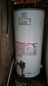 Propane Hot Water tank