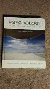 Psychology Frontiers and Applications Textbook for Sale! London Ontario image 1