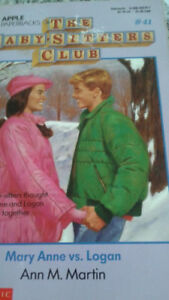 Babysitters' Club vintage books