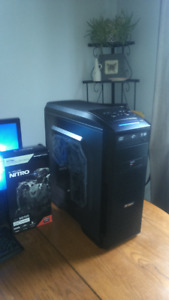 brand new liquid cooled 8 core beastly gaming pc