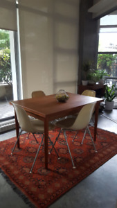 Mid Century Modern teak table with leaves - $600 (Mount Pleasant